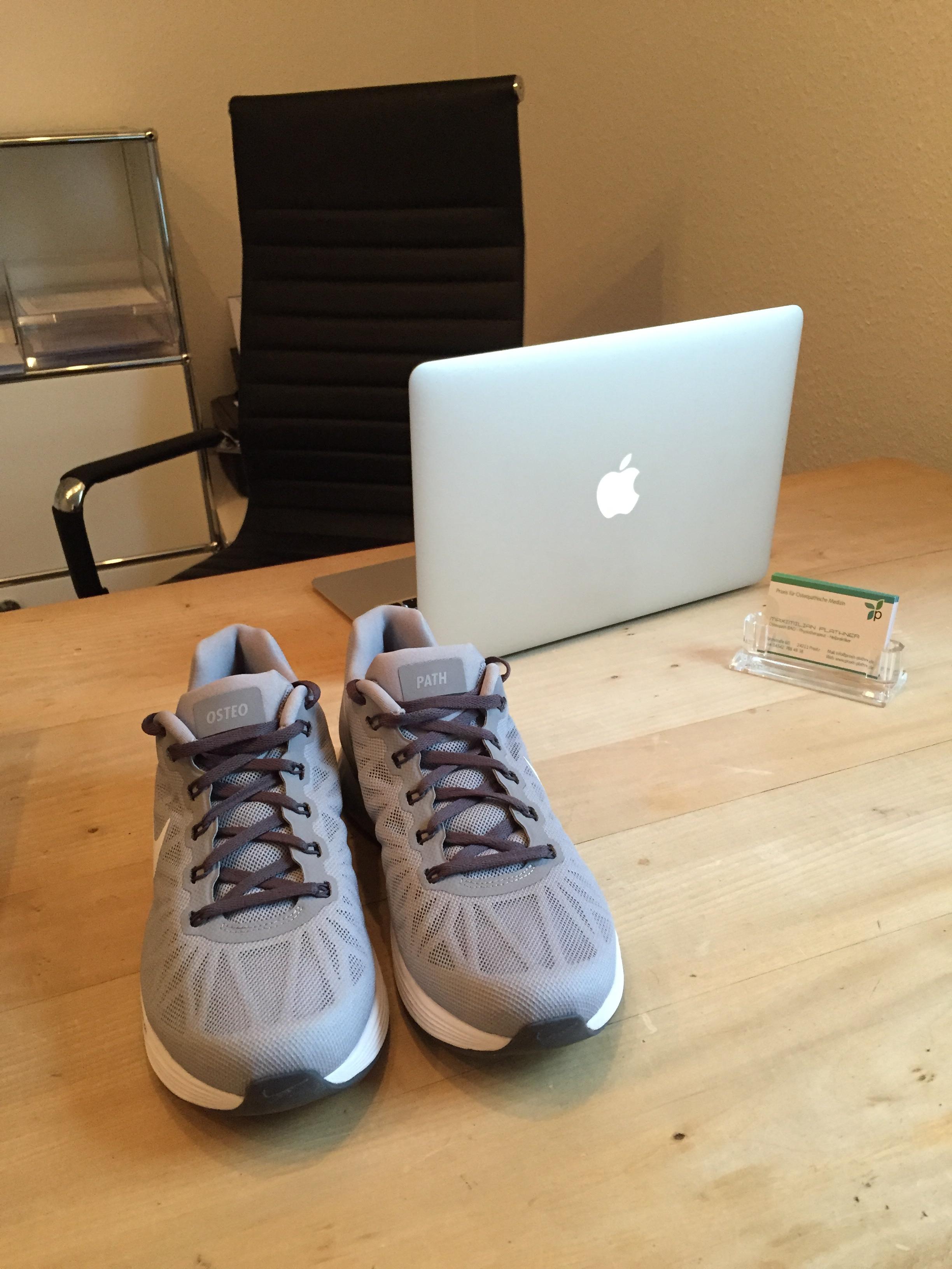 Der Schuh für den Osteopathen