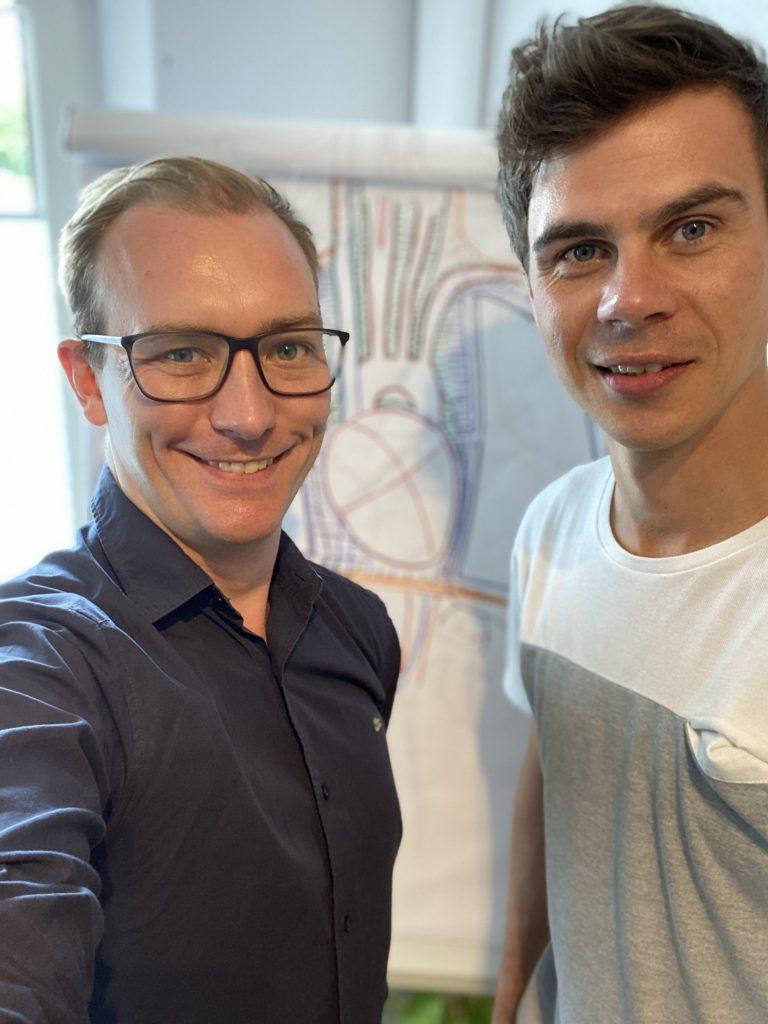 Maximilian Plathner und Nils Grundt